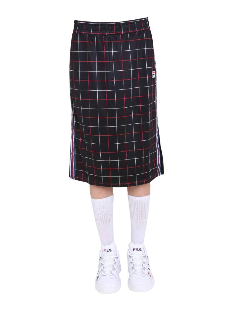 Fila Midi Skirt - NERO