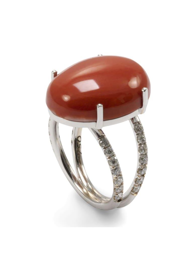 Lo Spazio Jewelry Lo Spazio Mare Rosso Ring - Red