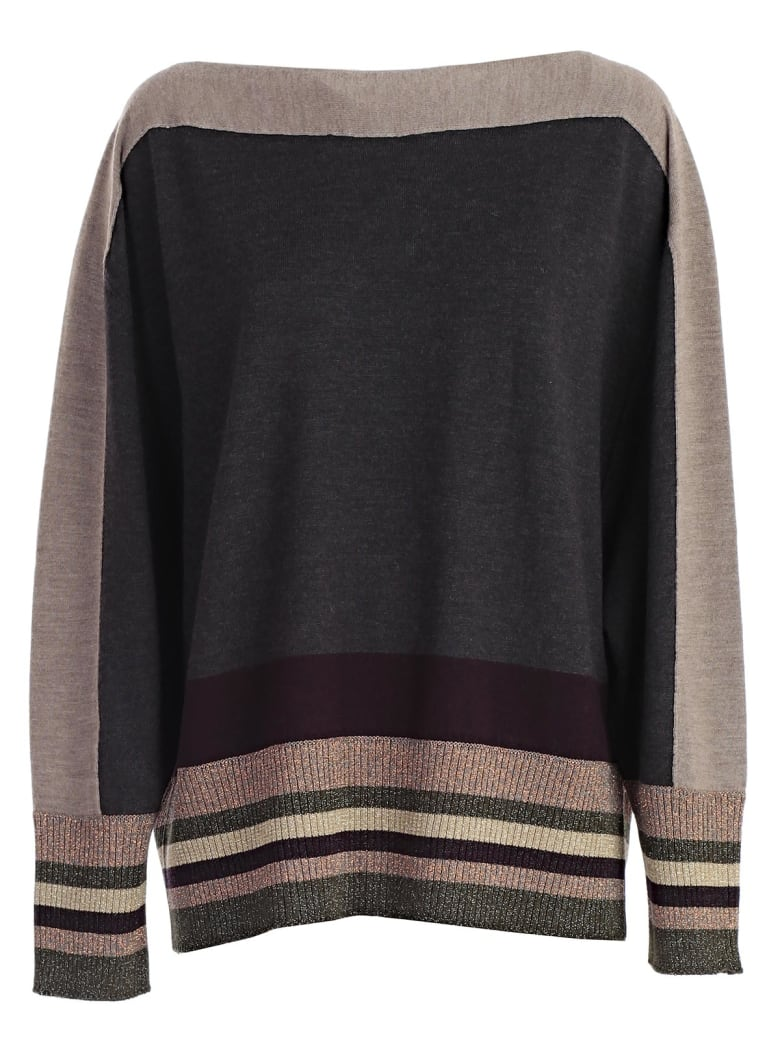 Antonio Marras Stripe Trim Sweater - Multicolore