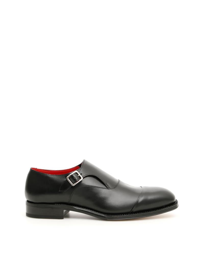 Alexander McQueen Monk Shoes - BLACK (Black)
