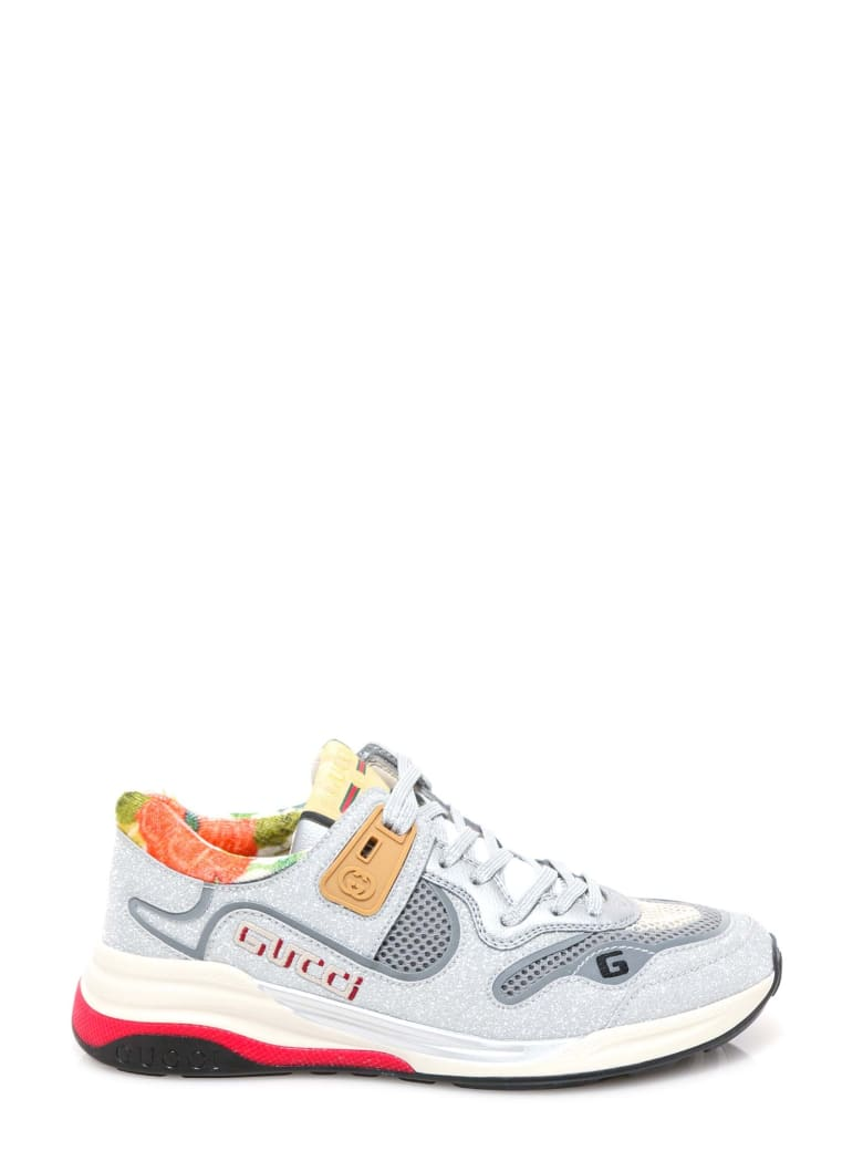 Gucci Ultrapace Sneakers - Silver