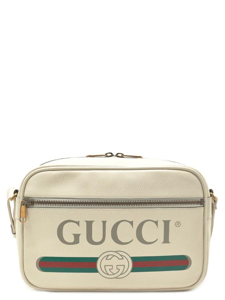 Gucci 'gucci Print' Bag - White