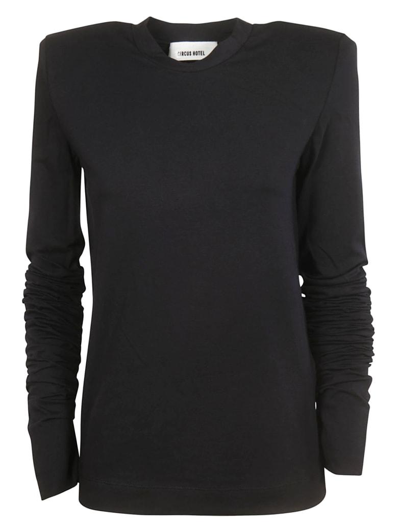 Circus Hotel Long Sleeve T-Shirt - Black