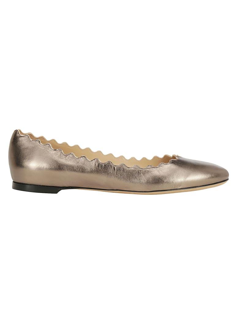 Chloé Ballerinas - Silver