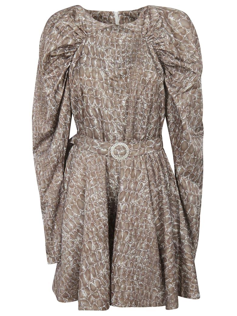 Rotate by Birger Christensen Belted Dress - Pitone