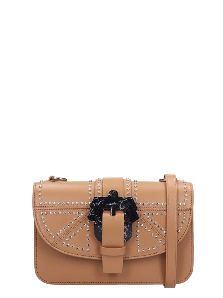 Paula Cademartori Shoulder Bag In Leather Color Leather - leather color