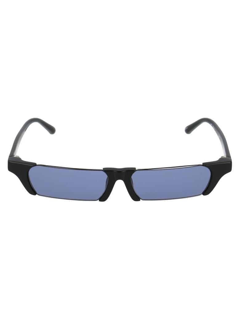 Marcelo Burlon Sunglasses - Black Yellow Gold Sand Gradient