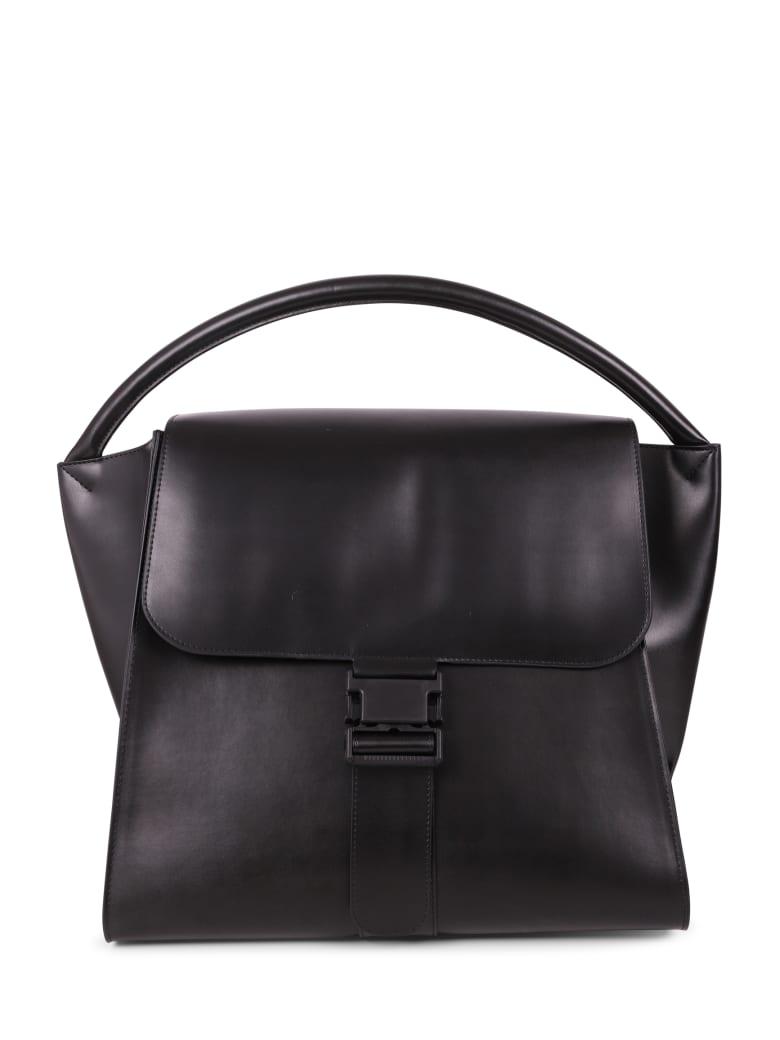 Zucca Black Buckled Bag L - Black