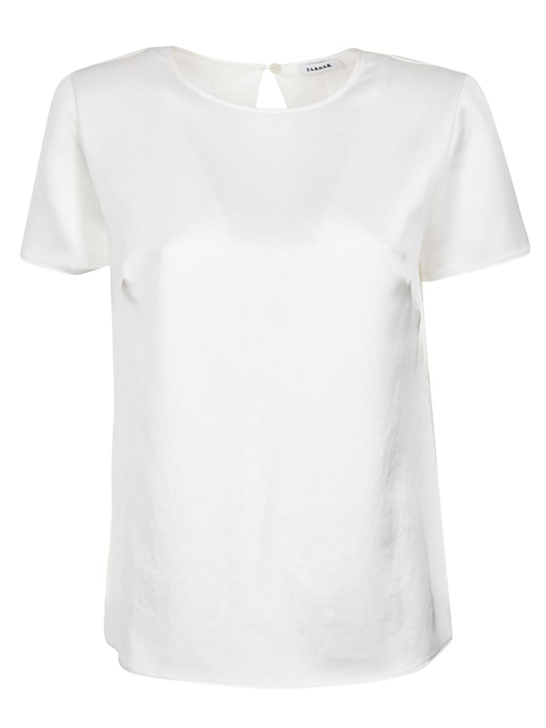 Parosh Short Sleeved Blouse - White