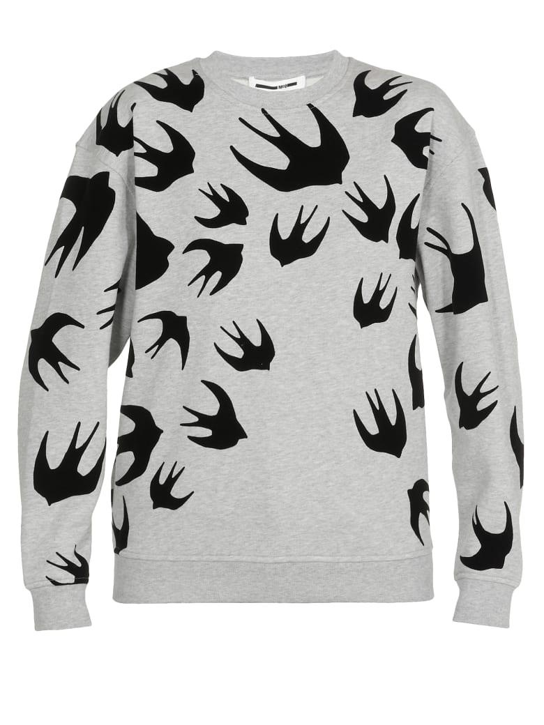 McQ Alexander McQueen Cotton Sweatshirt - Mercury Melange