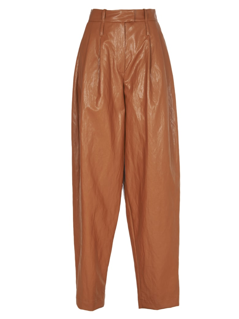Jejia Brown Trousers - Brown