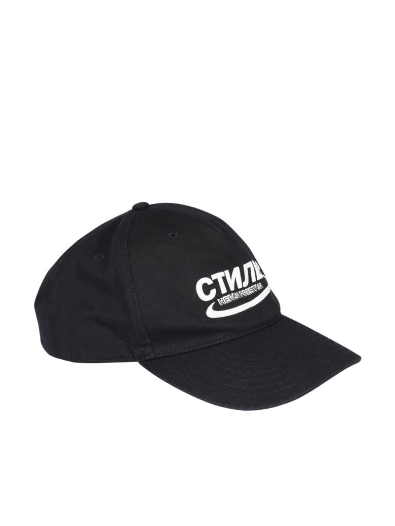 HERON PRESTON Ctnmb Baseball Cap - Black white