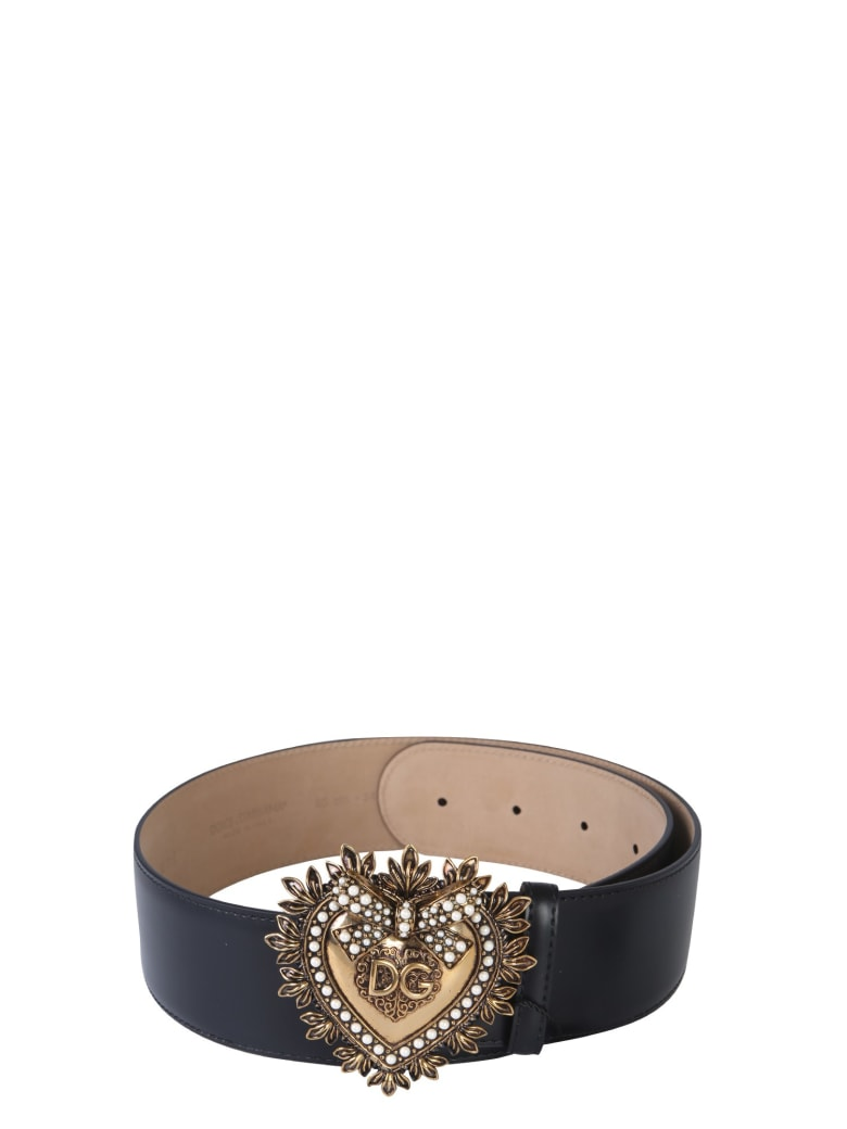 Dolce & Gabbana Devotion Belt - NERO