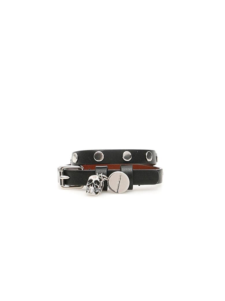 Alexander McQueen Pionier Bracelet - BLACK (Black)