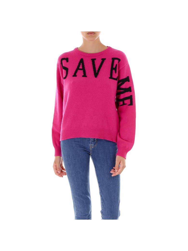 Alberta Ferretti Love Me Collection Sweater - Purple