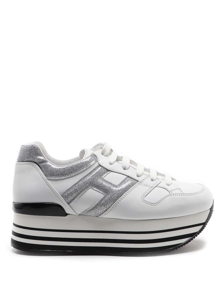 Hogan Sneakers - White/silver