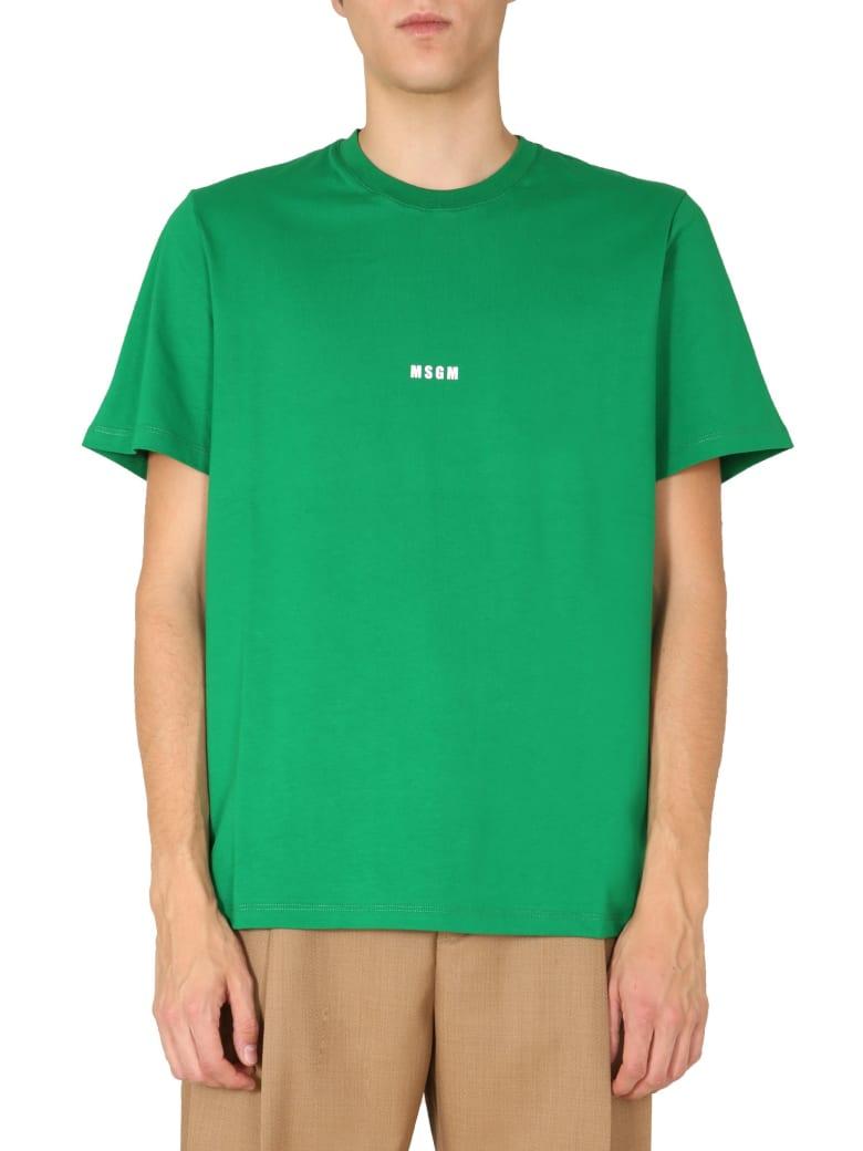 MSGM Crew Neck T-shirt - VERDE