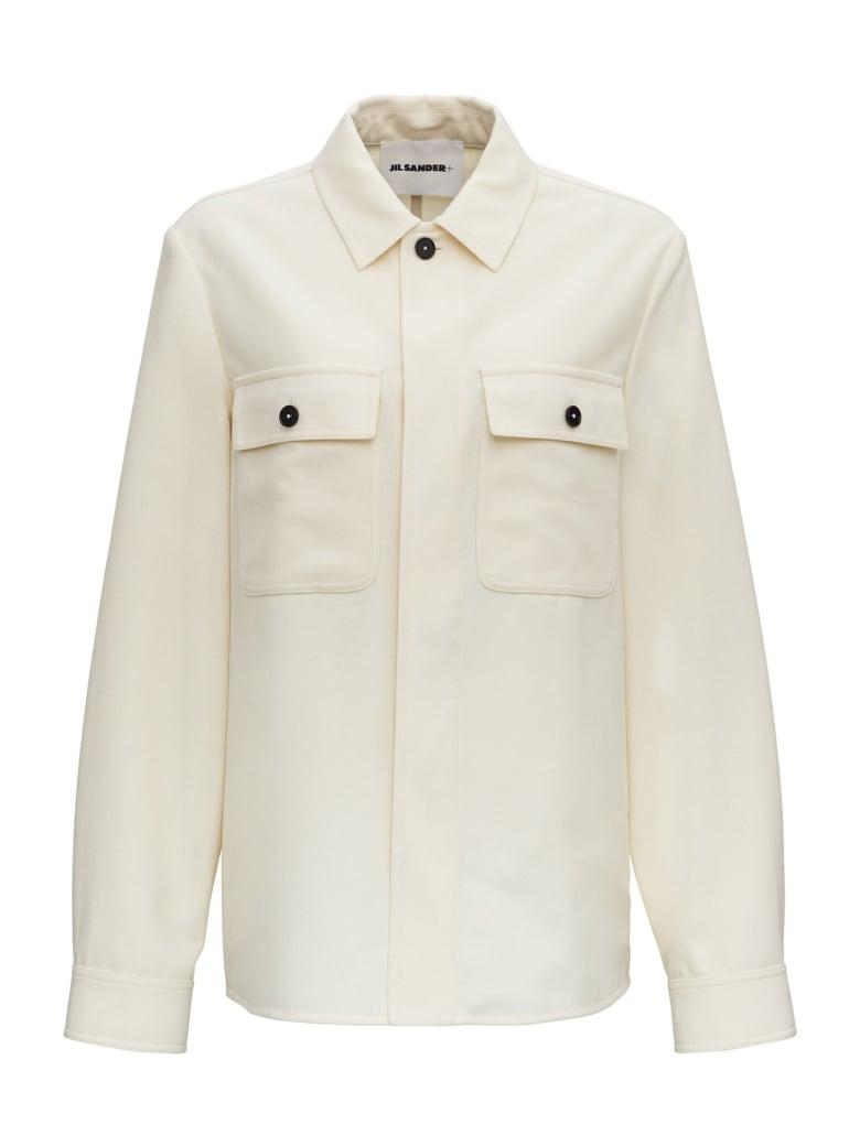 Jil Sander Flannel Shirt - White
