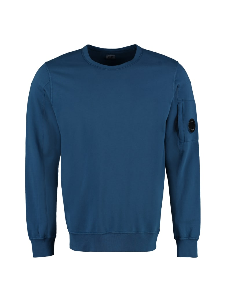 C.P. Company Cotton Crew-neck Sweatshirt - blue