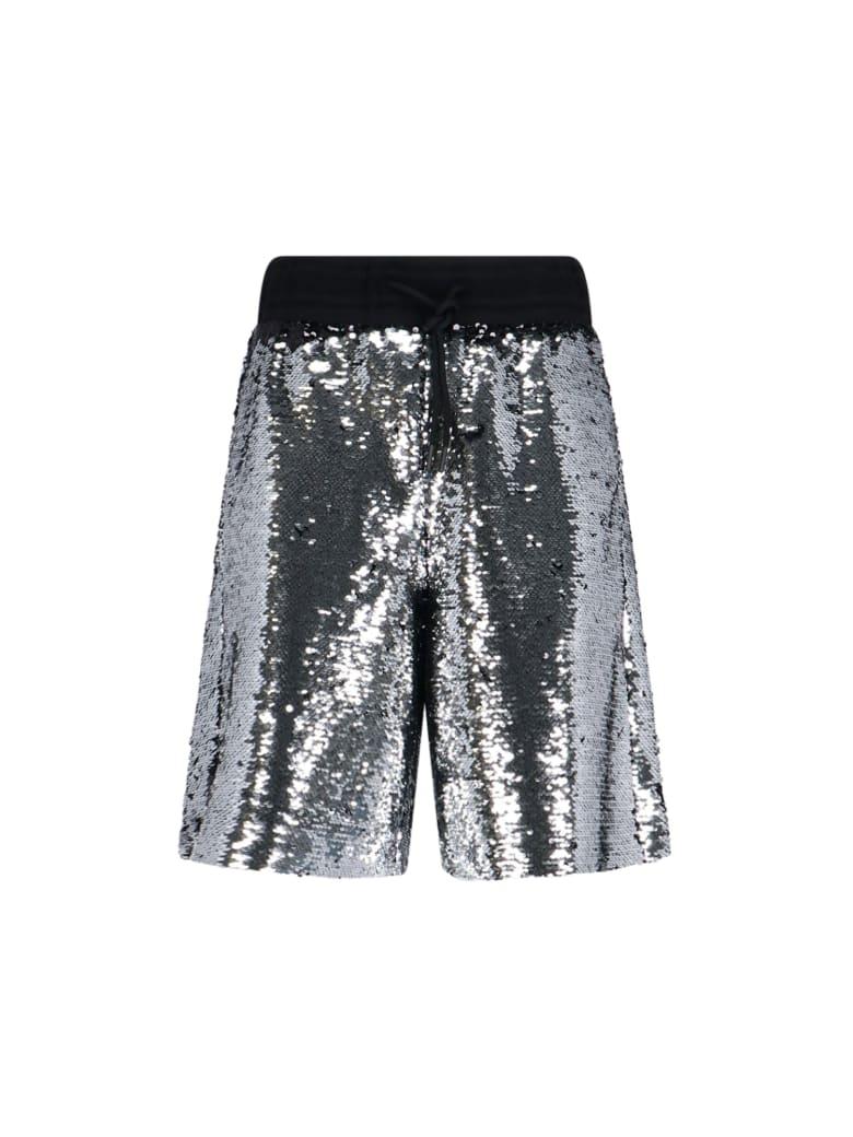 Golden Goose Sequined Bermuda Shorts - Silver