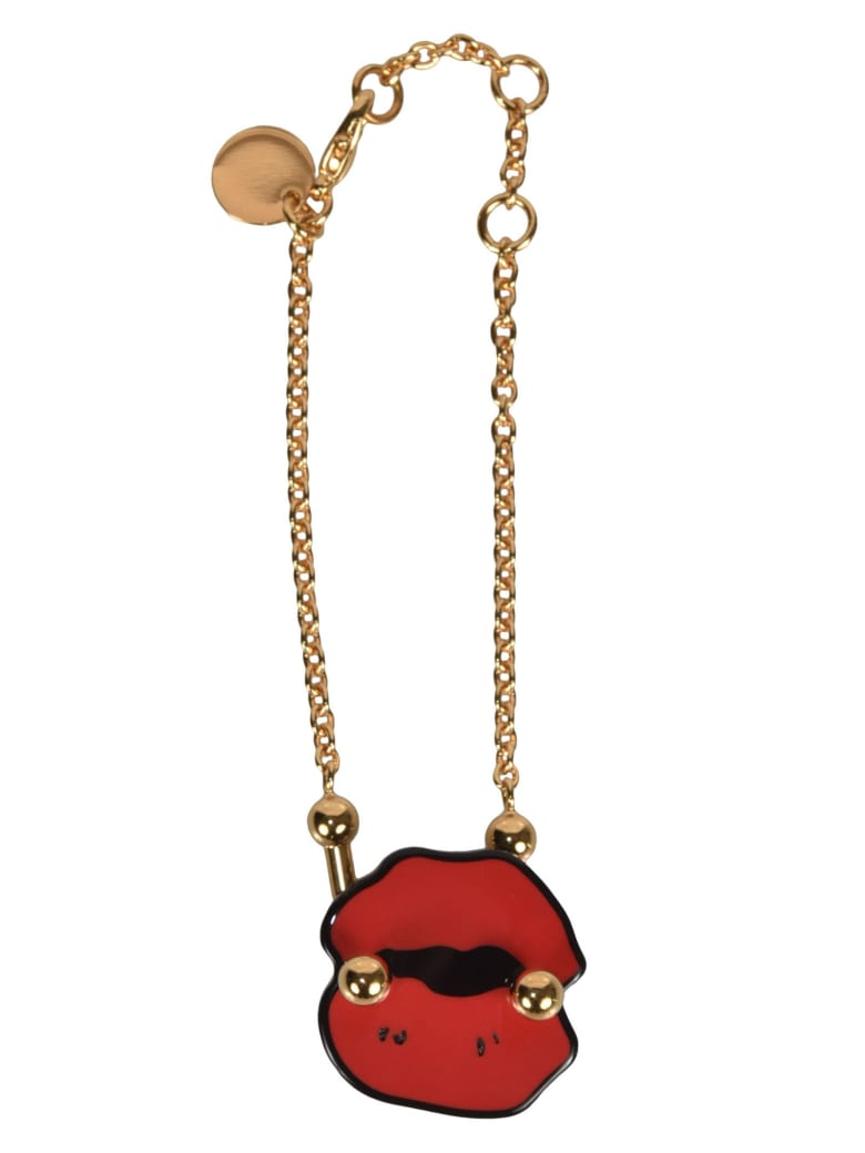 Marni Kiss Mark Small Necklace - Red
