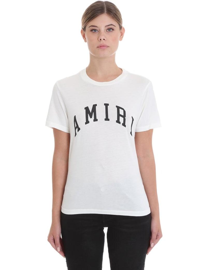 AMIRI College Amiri T-shirt In White Cotton - white
