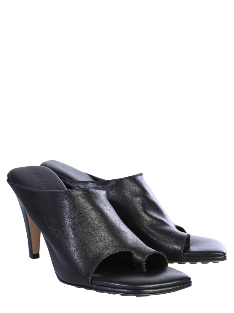 Bottega Veneta Leather Mules - NERO