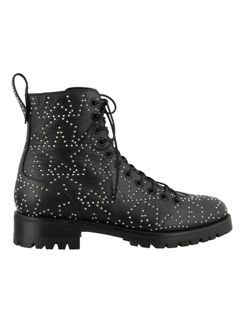 Jimmy Choo Cruz Boots - Black/silver