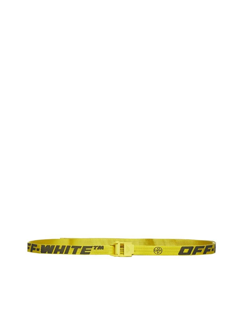Off-White Belt - Yellow black