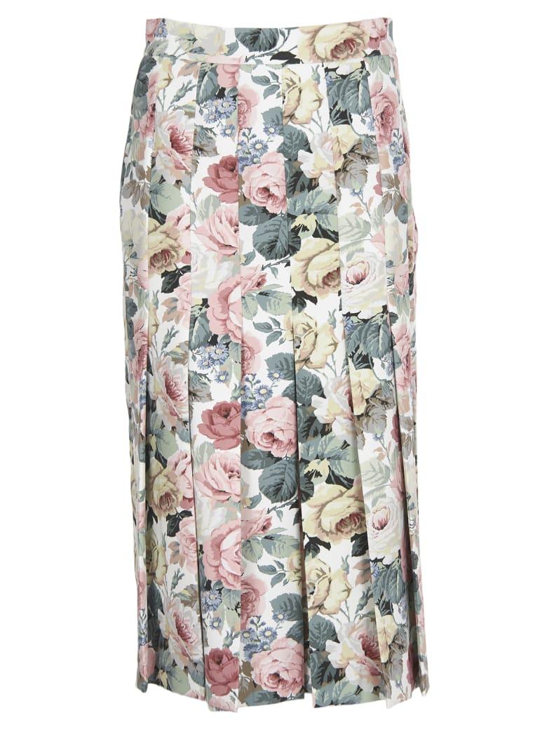 Vivetta Floral Pattern Skirt - Multicolor