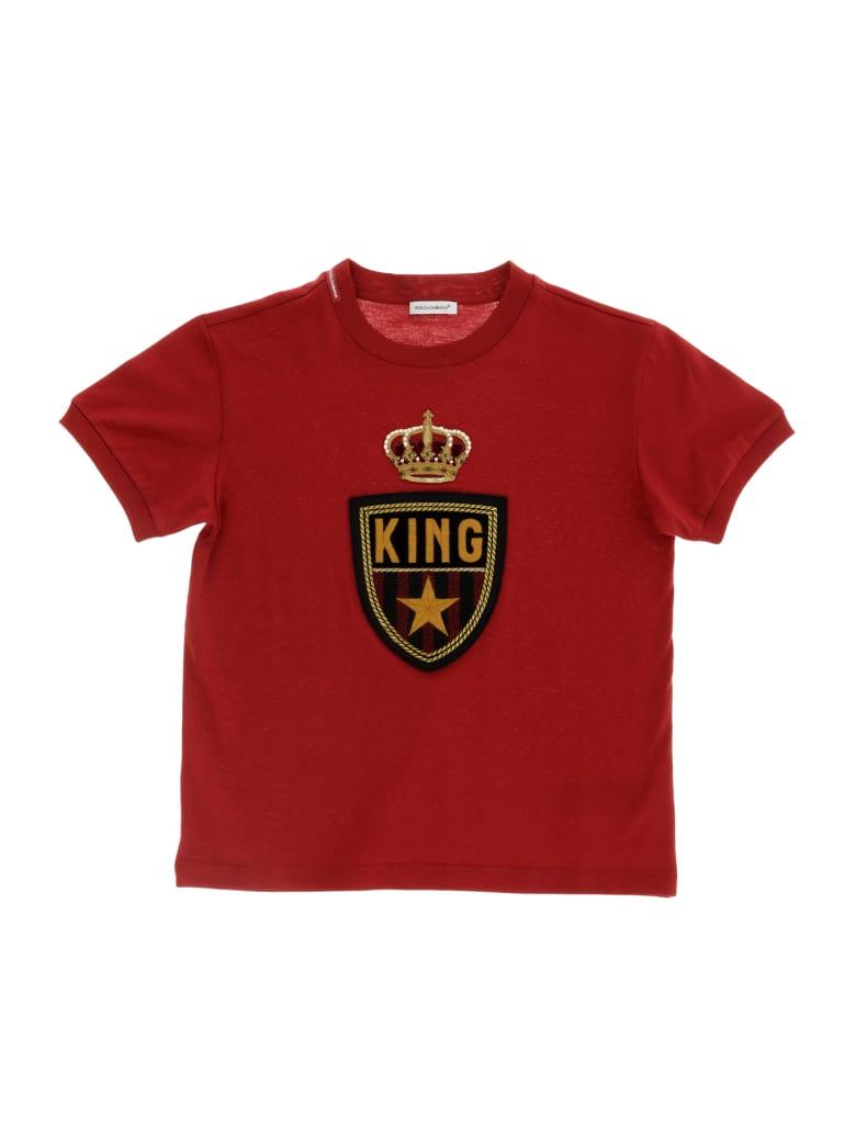 Dolce & Gabbana T-shirt Manica Corta - Rosso