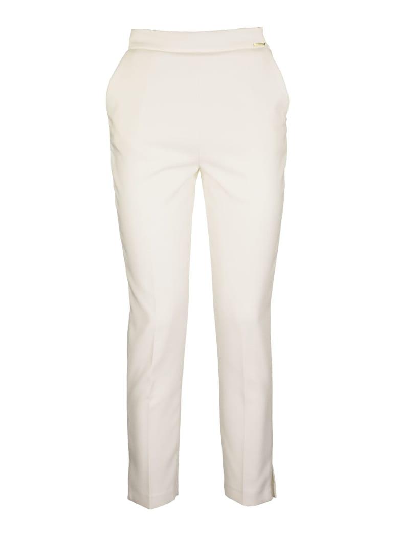 Elisabetta Franchi Celyn B. Cigarette Trousers - Ivory