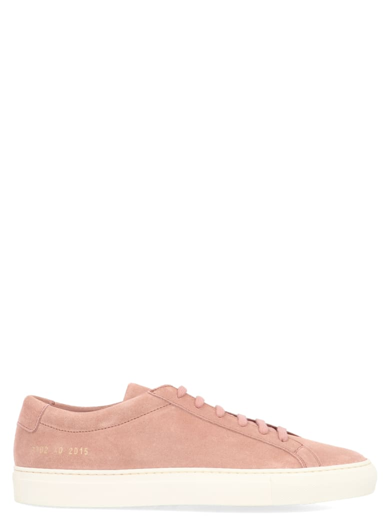 Common Projects 'original Achilles' Shoes - Pink
