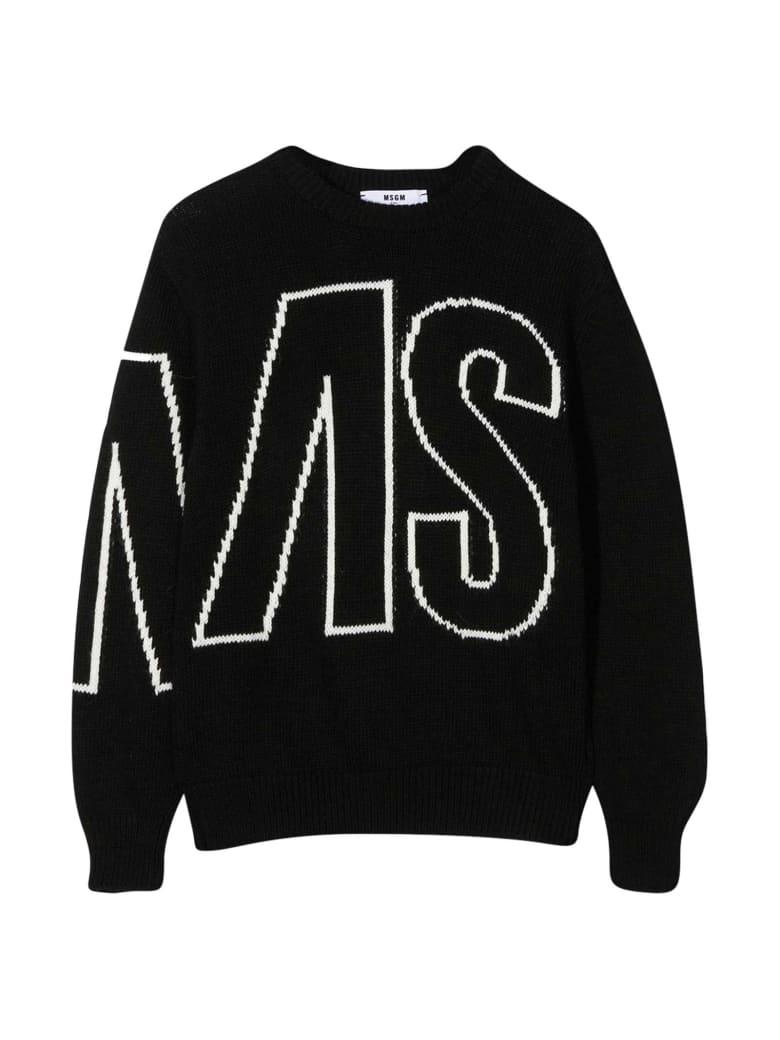 MSGM Black Sweater - Nero
