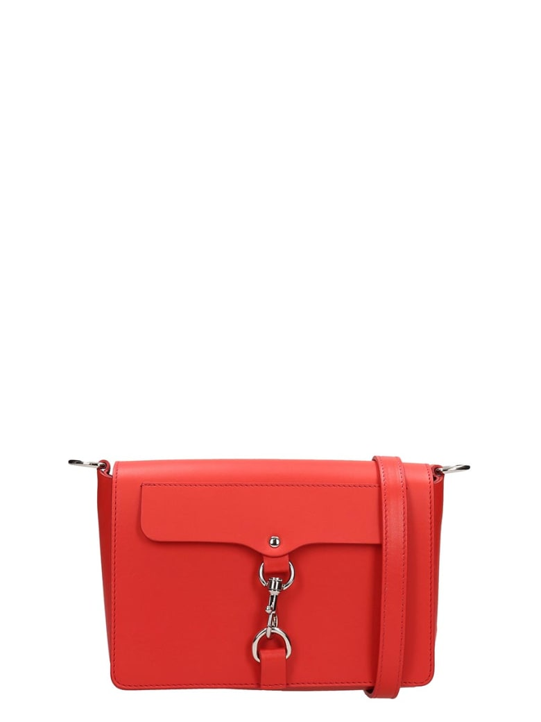 Rebecca Minkoff Red Leather Bag - red