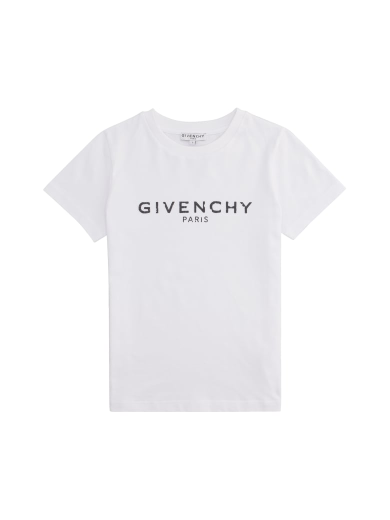 Givenchy Logo Print Cotton T-shirt - White