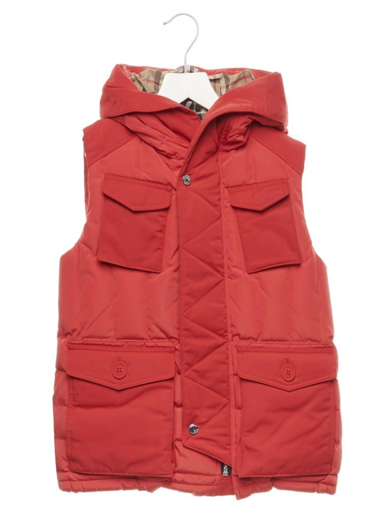 Burberry 'vincent' Vest - Red