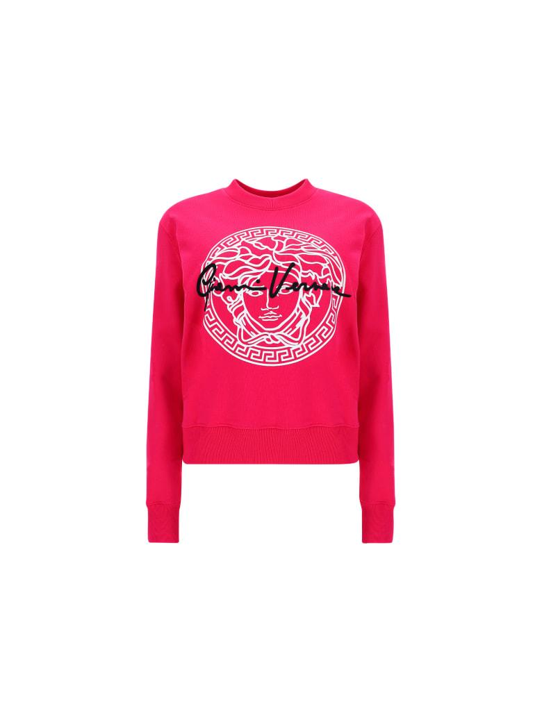 Versace Sweatshirt - Fuxia-bianco-nero
