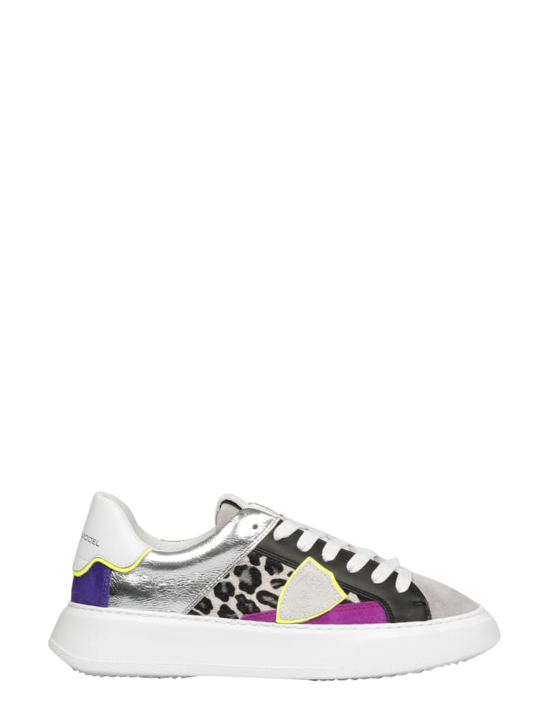 Philippe Model Temple L D Fancy Pop Sneakers - Multicolour