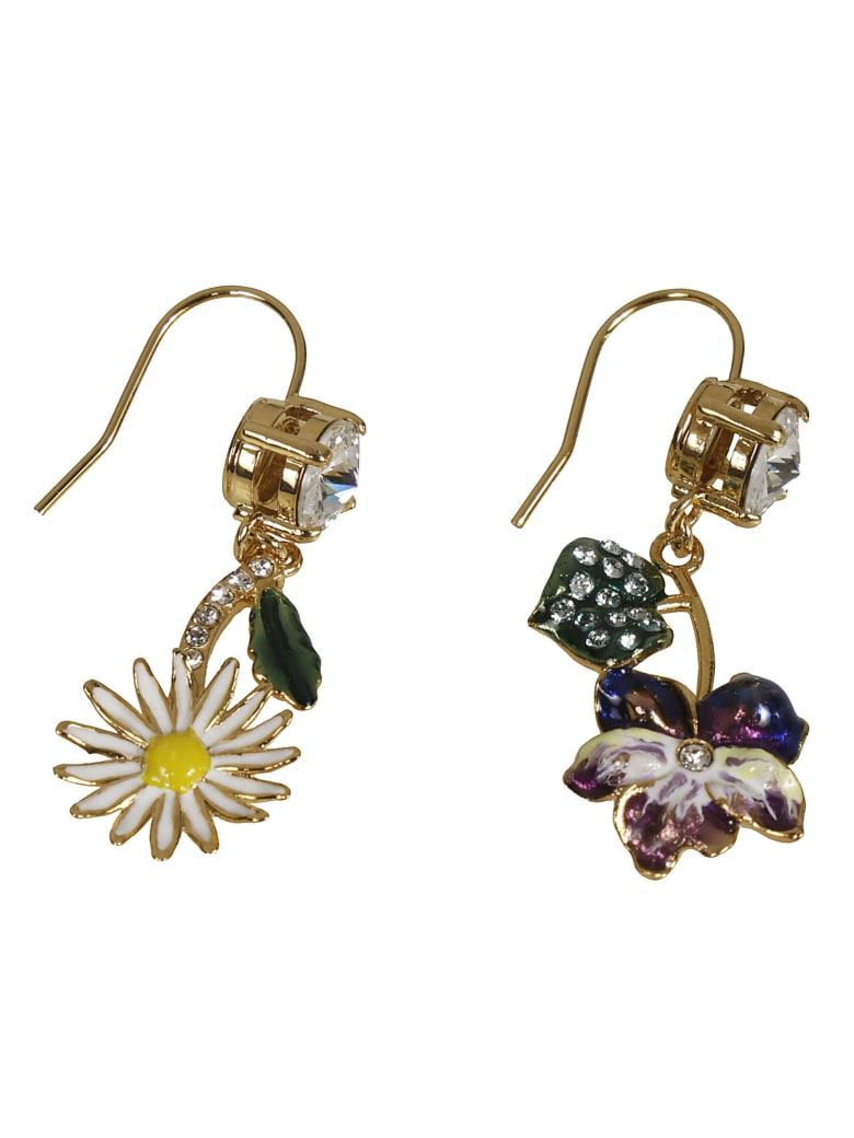 Miu Miu Crystal Earrings - Multicolor