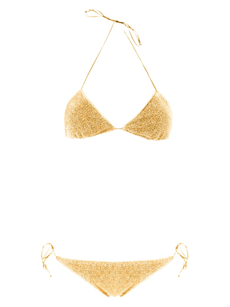 Oseree Lurex Bikini - GOLD (Gold)