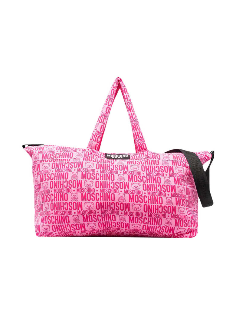 Moschino Changing Pink Bag - Fucsia