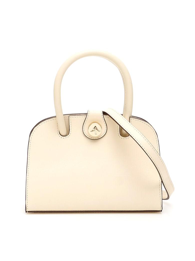 MANU Atelier Ladybird Micro Bag - VANILLA (Beige)