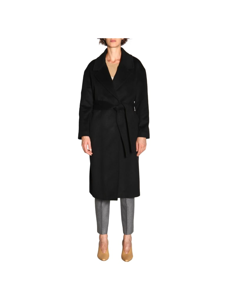 Paltò Palto' Coat Coat Women Palto' - black