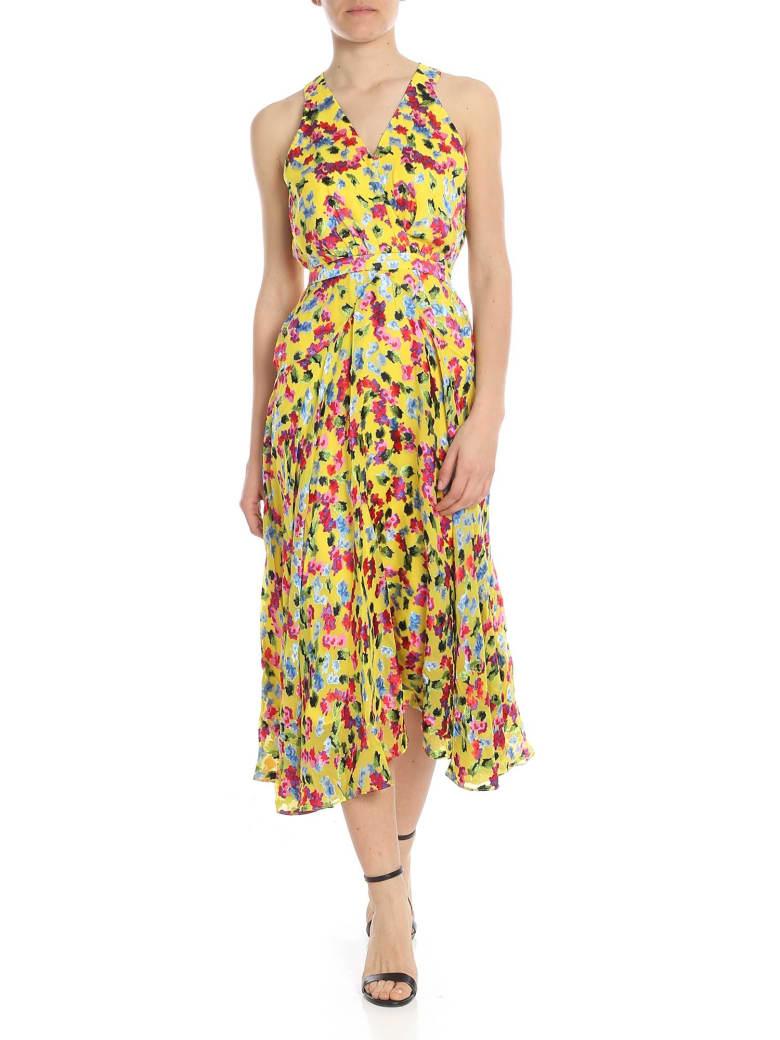 Saloni - Rita Dress - Fantasia giallo