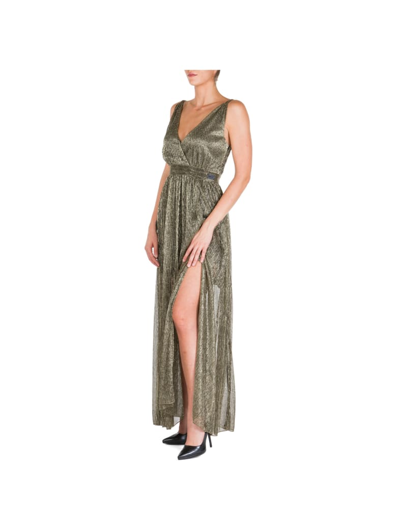 Be Blumarine  Long Gown Prom Evening Ceremony Formal Dress - Oro