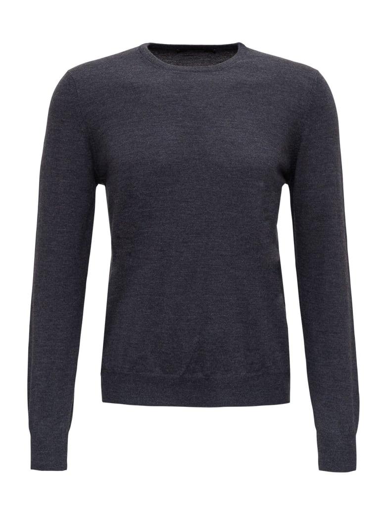 Tagliatore Wool Jumper - Grey