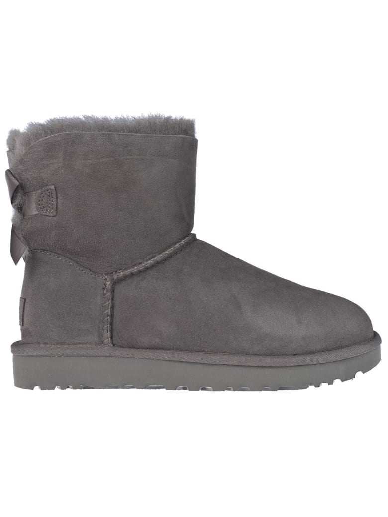 UGG Mini Bailey Bow Ii Boots - Grey