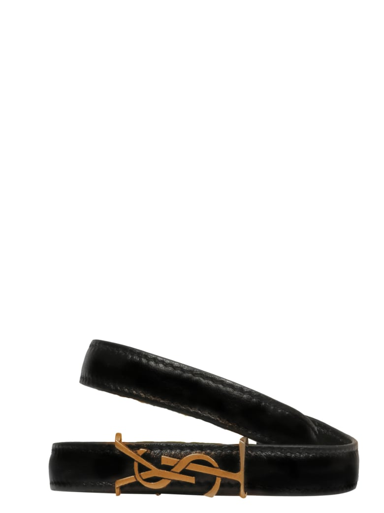 Saint Laurent Bracelet - Black