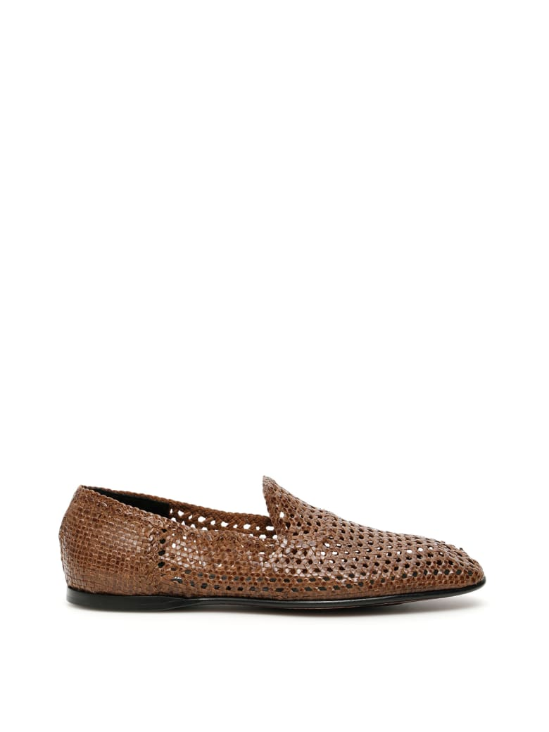 Dolce & Gabbana Florio Loafers - FANGO (Brown)